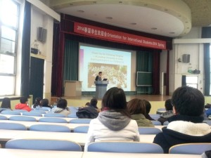 welcome day Tsinghua University