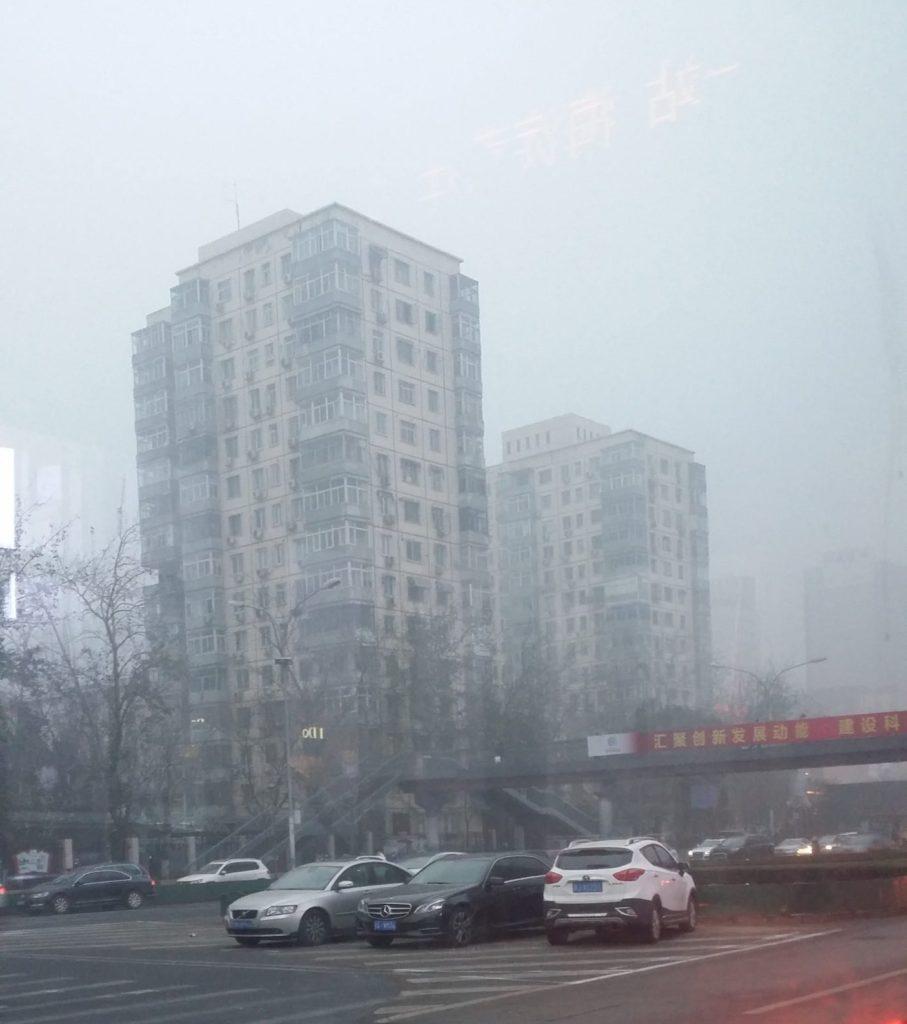smog v Pekingu, ochrana proti smogu, ochranné rúško