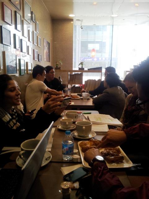 raňajky s profesorom v Číne, technologický park Tsinghua University, prednáška, ako sa študuje v Číne