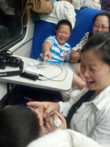 cestovanie vlakom v Číne