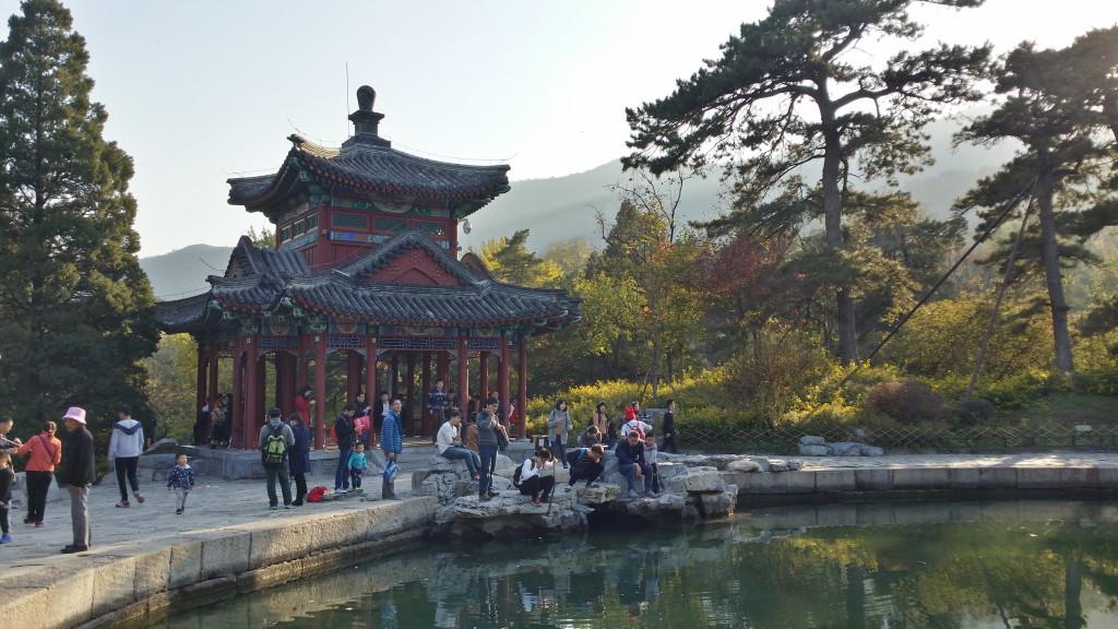 Voňavé hory, Čínsky spôsob jeseň 2015 Čína Peking